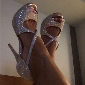 Steve Madden Rhinestone Shoes